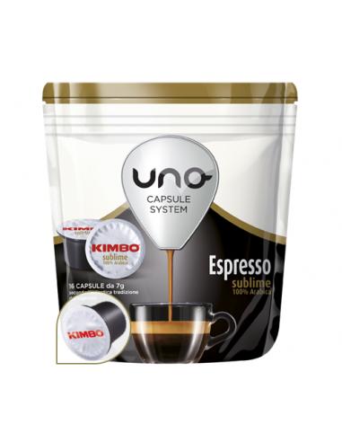 Caffè Kimbo espresso Subblime