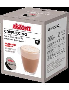 Ristora Cappuccino senza lattosio 10 capsule sistema Dolce Gusto