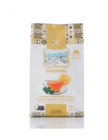 Dolce Gusto The al limone Gattopardo 16 Capsule