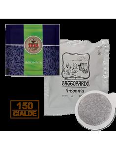 Caffè Gattopardo To.Da Insonnia 150 Cialde Ese 44mm