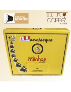 Caffè Passalacqua Sistema Nespresso Miscela Manhoa