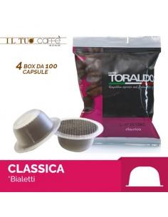 Toraldo Miscela classica Capsule compatibili Bialetti