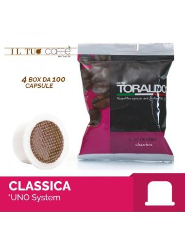 Toraldo Miscela classica Capsule compatibili Uno System
