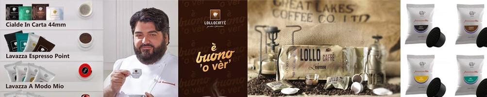 Lollo Caffè, gusto, passione ed esperienza. Cialde, capsule e grani