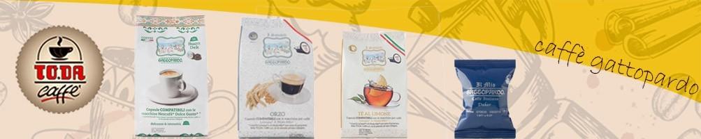 L'espresso Gattopardo il caffè italiano  capsule compatibili Espresso