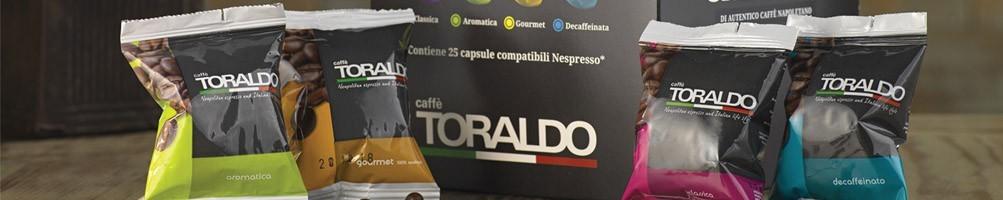 Caffè Toraldo in cialde capsule e Grani